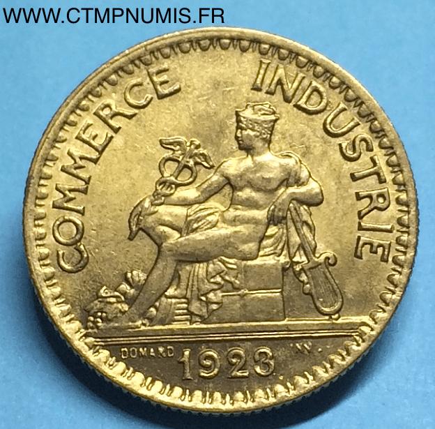 2 francs domard chambres de commerce 1923 sup ctmp numis for Chambre de commerce francaise en italie