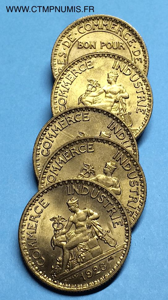 2 francs domard chambres de commerce 1923 sup ctmp numis for Chambre de commerce suisse en france
