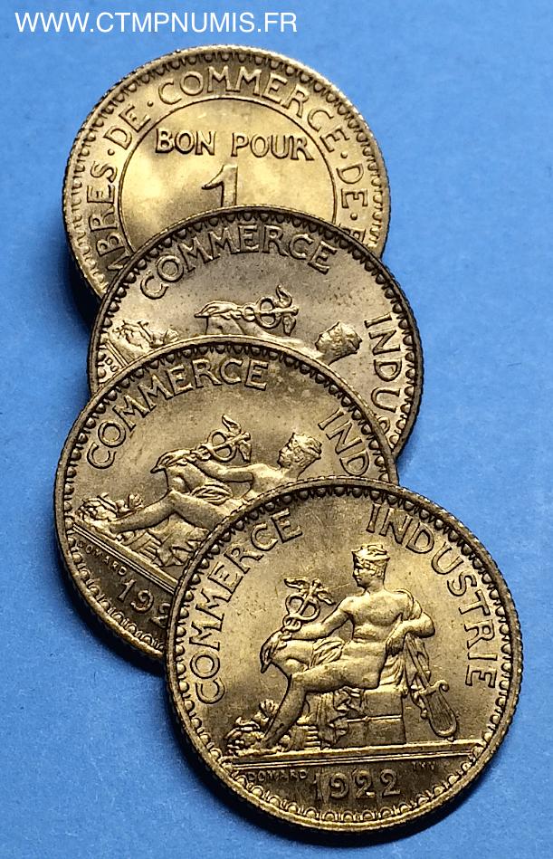 1 franc domard chambres de commerce 1922 sup ctmp numis for Chambre de commerce francaise en turquie