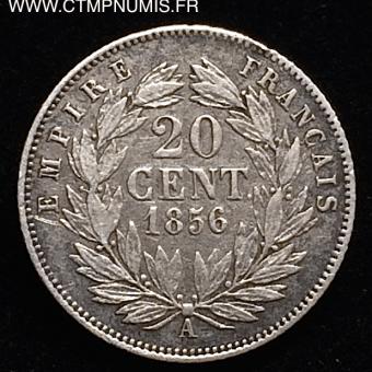 20 CENTIMES NAPOLEON III TETE NUE 1859 A PARIS TB – CTMP NUMIS