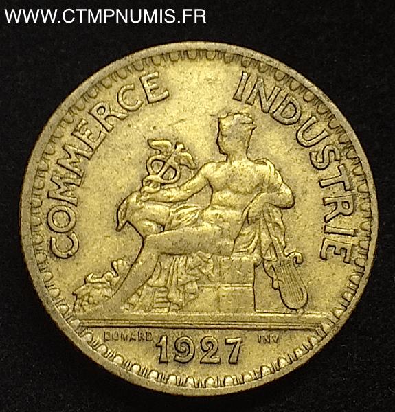 2 francs chambres de commerce 1927 rare tb ctmp numis for Chambre de commerce francaise en italie
