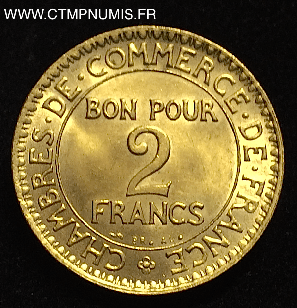 2 francs chambres de commerce domard 1921 sup ctmp numis for Chambre de commerce francaise en italie