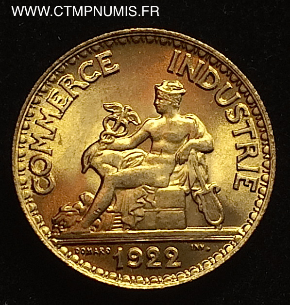 50 centimes chambres de commerce domard 1922 spl ctmp numis for Chambre de commerce francaise en italie