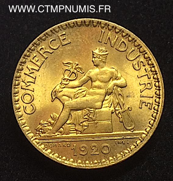 1 franc chambres de commerce domard 1920 sup ctmp numis for Chambre de commerce de londres