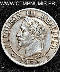 ,1,CENTIME,NAPOLEON,III,1870,A,PARIS,