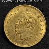 ITALIE 5 LIRE OR VICTOR EMMANUEL 1863 T TURIN