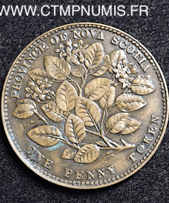 CANADA NOVA SCOTIA 1 PENNY 1856 VICTORIA