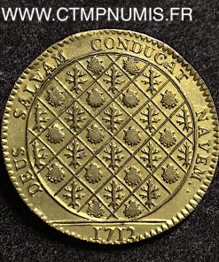JETON NOBLESSE DU LANGUEDOC AUVELLIER 1712