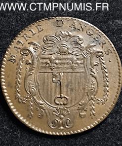 JETON ANJOU ANGERS CHARLES GAUDICHER 1763
