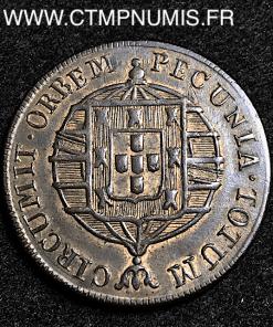 BRESIL 40 REIS JOANNES VI 1820 R RIO