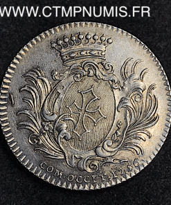 JETON ARGENT LOUIS XV LANGUEDOC 1756