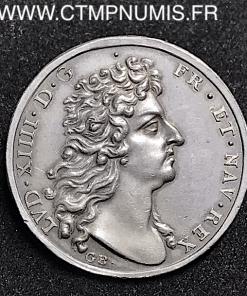JETON ARGENT LOUIS XIV LES ETATS DE LILLE 1685