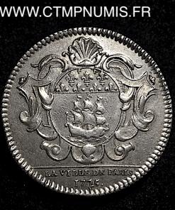 JETON ARGENT ILE DE FRANCE LAMBERT 1725