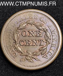ONE CENT USA 1850 SPL