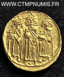 SOLIDUS OR AVEC CONSTANTIN ET HERACLONAS