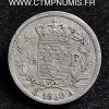 1/2 FRANC ARGENT CHARLES 1830 A PARIS