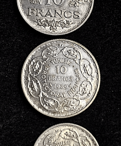 TUNISIE 5 ET 10 FRANCS 1939