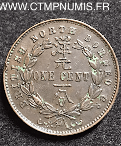 MALAISIE BORNEO 1 CENT 1887 H