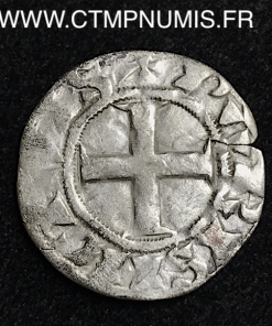 LOUIS VII DENIER ARGENT 3° TYPE FRANCO PARIS