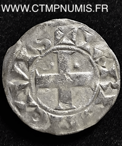 LOUIS VII DENIER ARGENT 4° TYPE PARIS