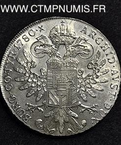AUTRICHE   TALER  ARGENT MARIE THERESE   1780