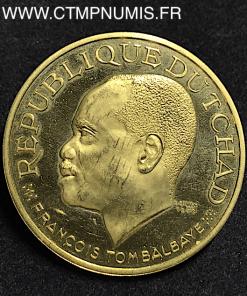 TCHAD 20.000 FRANCS OR TOMBALBAYE 1970
