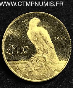 MALTE 10 POUNDS OR AIGLE 1975