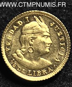 ,PEROU,1/5,LIBRA,OR,1911,SPL,