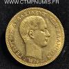 ,GRECE,20,DRACHME,OR,1876,A,PARIS,SUP,
