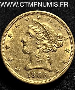 5,DOLLAR,OR,HALF,EAGLES,1906,SAN,FRANCISCO