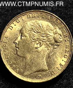 AUSTRALIE,1,SOUVERAIN,OR,1886,M,MEBOURNE,