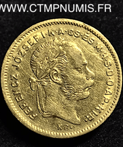 10,FRANCS,4,FORINT,HONGRIE,1871,OR,