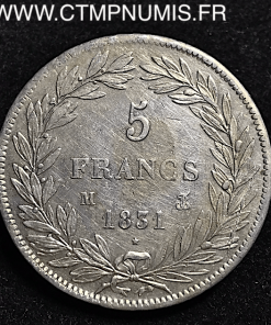 5,FRANCS,ARGENT,LOUIS,PHILIPPE,1831,TOULOUSE