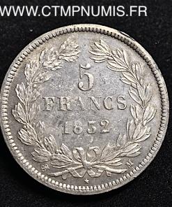 ,5,FRANCS,ARGENT,LOUIS,PHILIPPE,1832,TOULOUSE,