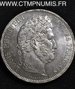 ,5,FRANCS,ARGENT,LOUIS,PHILIPPE,1833,TOULOUSE,