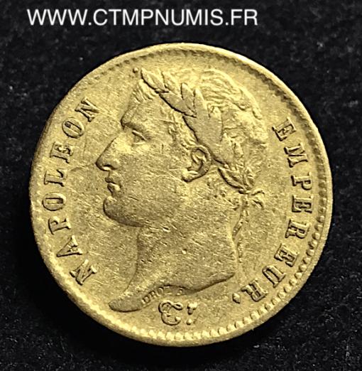 ,20,FRANCS,OR,NAPOLEON,I°,REPUBLIQUE,1808,M,TOULOUSE,