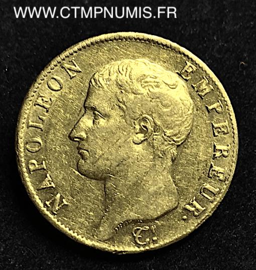 ,40,FRANCS,OR,NAPOLEON,I°,1806,M,TOULOUSE,