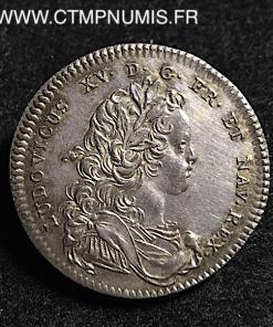 ,JETON,ARGENT,LOUIS,XV,TRESOR,ROYAL,1722,SUP,