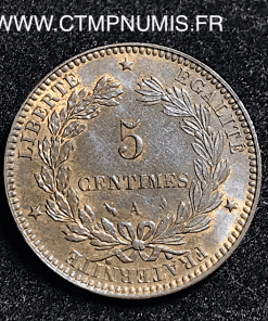 ,5,CENTIMES,CERES,1898,A,PARIS,SUP,