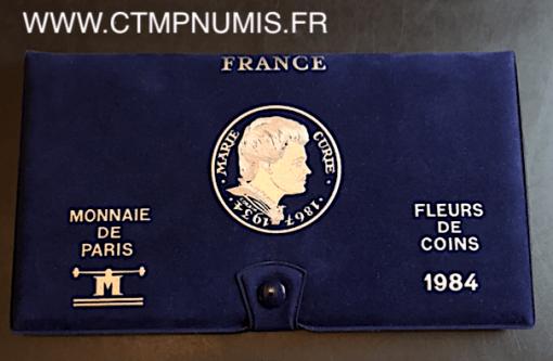 ,SERIE,FDC,MONNAIE,DE,PARIS,1984,
