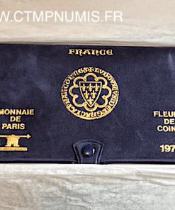 ,SERIE,FDC,MONNAIE,DE,PARIS,1979,AVEC,BOITE,