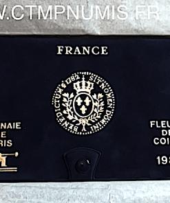 ,SERIE,FDC,MONNAIE,DE,PARIS,1982,AVEC,BOITE,