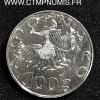 MONACO 100 FRANCS ARGENT 1997