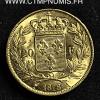 20 FRANCS OR LOUIS XVIII BUSTE NU 1818 A PARIS