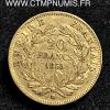 20 FRANCS OR NAPOLEON III 1855 STRASBOURG