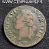 LOUIS XVI 1/2 SOL 1783 M TOULOUSE