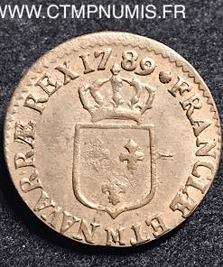 LOUIS XVI 1/2 SOL 1789 M TOULOUSE