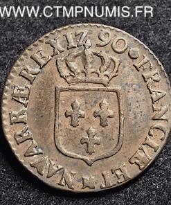LOUIS XVI 1/2 SOL 1790 M TOULOUSE