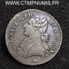 LOUIS XVI 1/10 ECU ARGENT 1778 M TOULOUSE