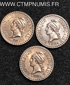UN CENTIME DUPRE II° REPUBLIQUE 1848,49,51
